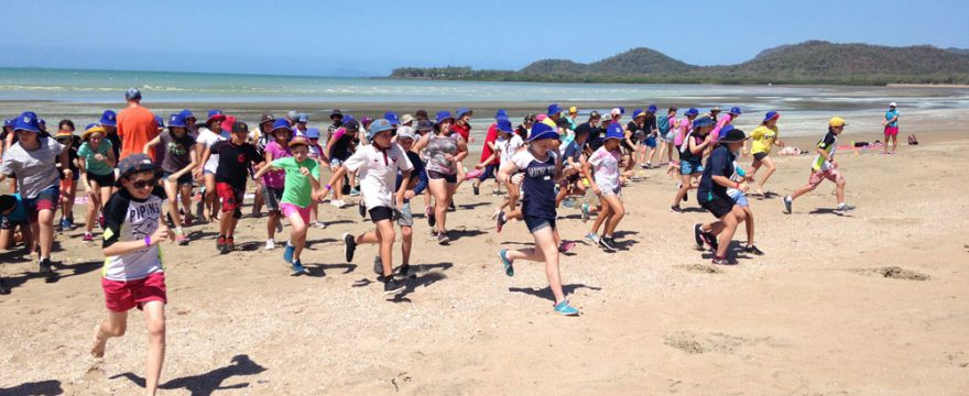 uni students activity sessions at Seaforth Pines
